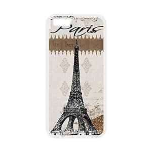 iPhone6 Plus 5.5 inch Phone Cases White Vintage Paris FSG538121
