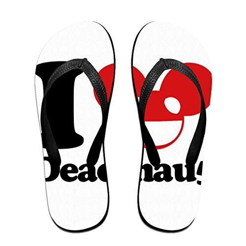 Towilliamsnya Black Funny Slippers Deadmau5 M Coolest Slippers House Slippers for Women & Men