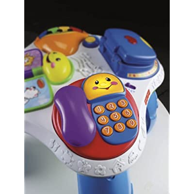 Fisher-Price Laugh & Learn Fun with Friends Musical Table Activity Center: Toys & Games