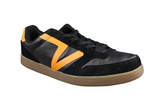 25f952905e2db9 Vans Mens Leather Black Orange Jumma Skate Shoes Trainers  Amazon.co.uk   Shoes   Bags