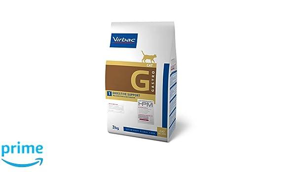 Virbac Veterinary HPM Cat Digestive Comida para Gato Bolsa de 3 kg, Talla S: Amazon.es: Productos para mascotas