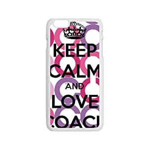 Happy Coach design fashion cell phone case for iPhone 6