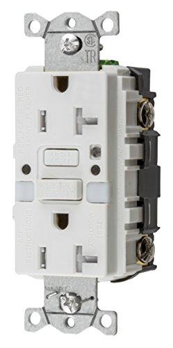 Bryant Electric GFTRST20WNL 20 Amp, 125V, Commercial/Resi...