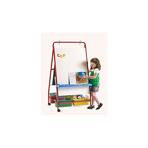 Marker Tray Magnetic Board Easel