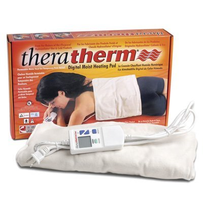 TheraTherm Digital Electric Moist Heating Pads Cervical pad 20'' x 23'' by Rolyn Prest