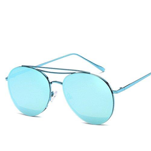 Chahua Lunettes de soleil en métal, la personnalité de la mode lunettes de soleil  Lunettes 34cae9e704f7