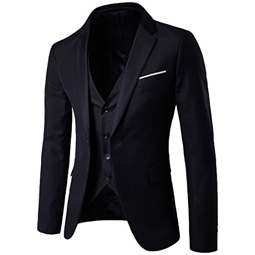 MAGE-MALE-Mens-3-Pieces-Suit-Elegant-Solid-One-Button-Slim-Fit-Single-Breasted-Party-Blazer-Vest-Pants-Set