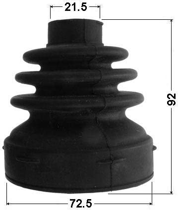 Kit For Nissan Inner Cv Joint Boot 72,5X92X21,5 C9741-El10A // C9741El10A