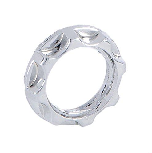 (B&P Lamp Chrome Finish Ring for Threaded Candelabra Socket)