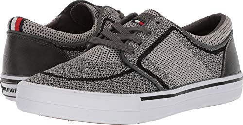 Tommy Hilfiger Men's REDD4 Shoe, gray multi synthetic, 10.5 Medium US