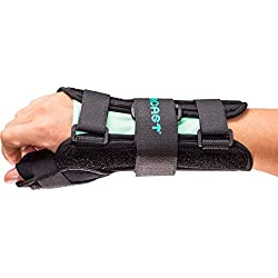 Aircast A2 Wrist Support Brace with Thumb Spica: Right Hand, Small