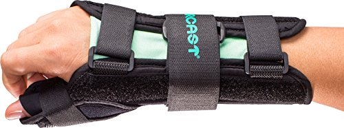 Aircast A2 Wrist Support Brace with Thumb Spica: Right Hand, Large