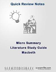 Micro Summary: Macbeth (Quick Literature Study Notes) (English Edition)