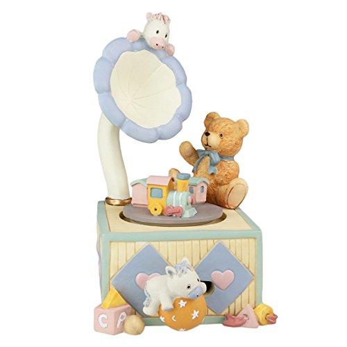 ROTyiger Kinder Spielzeug Gramophone Design Cartoon Cute Bear rotierenden Spieluhr für Geburtstagsgeschenk