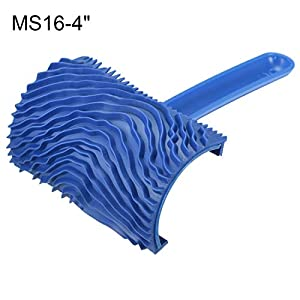 uxcell 4 Inch Wood Graining Rubber Grain Tool Pattern Wall Painting Decoration DIY MS16