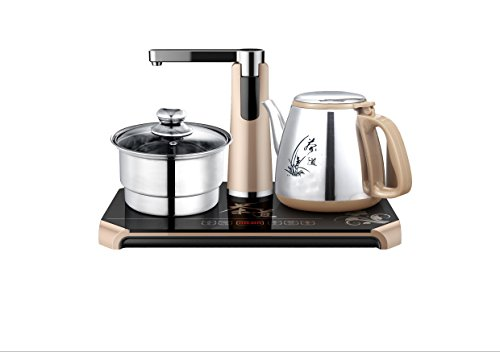 The Intelligent Combination Of Kong Fu Tea Pot gongfu Tea Pot Powerful Kettle,Lightning Fast Boiling,Stainless Steel,Cordless And Portable