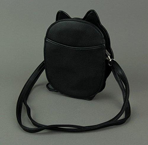pour Critters BLACK Noir femme Sac Unique Noir 87753UB Taille Sleepyville bandoulière S4qOXOn