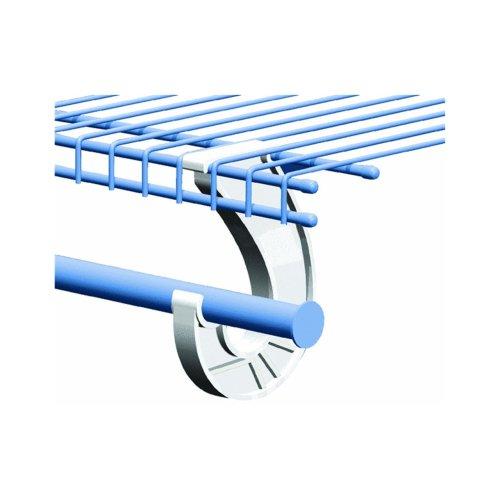 SuperSlide White Closet Rod