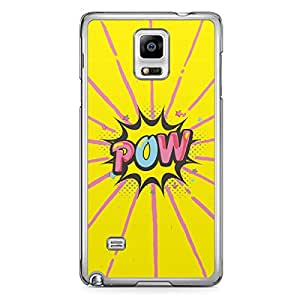Pow Samsung Note 4 Transparent Edge Case - Comic Collection