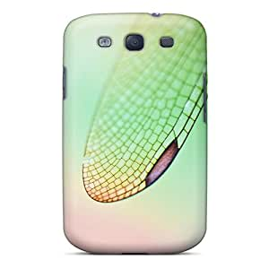 Brand New S3 Defender Case For Galaxy (dragonfly Wings Retina)