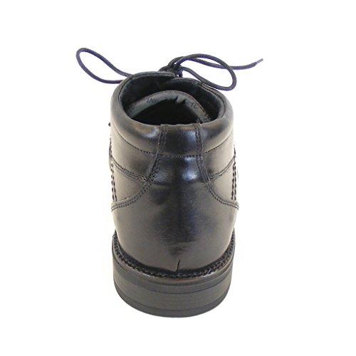 Schuhe Schwarz Wechselfußbett Naot 12785 Frank Leder Herren Knöchelschnürschuhe axWpqv5P