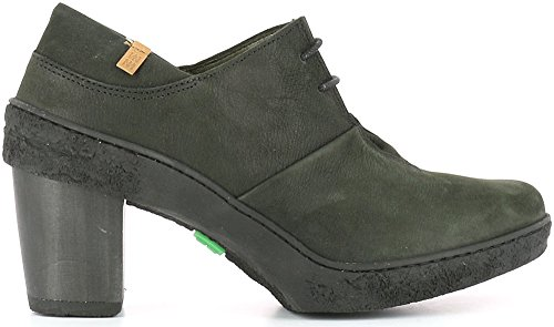 El Naturalista Nf70 Pleasant Lichen, Zapatos de Tacón con Punta Cerrada para Mujer Negro (Black / Black)