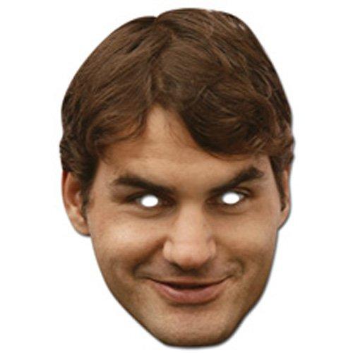 Mka Roger Federer Celebrity Mask from Mask-arade