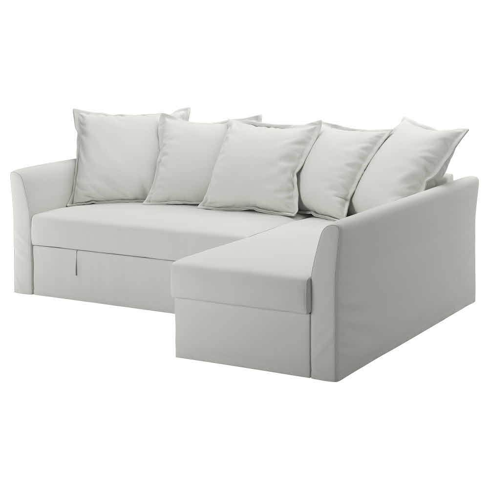 IKEA ASIA HOLMSUND - Funda para sofá esquinero, Color Blanco ...
