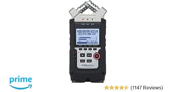 Amazon com: Zoom H4N PRO Digital Multitrack Recorder
