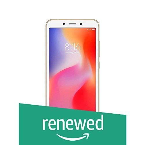Renewed  Mi Redmi 6  Gold, 32  GB