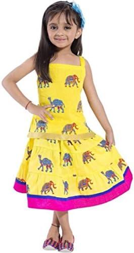 0dbd4757d Shop Frenzy Beautiful Work Lehenga Choli Top   Skirt Set for Baby ...