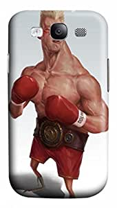 3D PC Easy Snap-on&Durable Back Protective Case Cover For iPhone 4 Hard Plastic Shell Skin For iPhone 4-Boxing Man