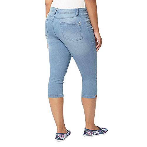Denim Highstreet Outlet Light Pantaloni Donna Zq1Zw