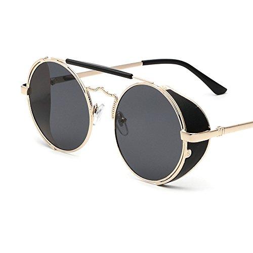dc291676e9 Sunyan Gafas de sol mujer marea cara redonda Coreano de estilo elegante  nueva ronda gafas Gafas