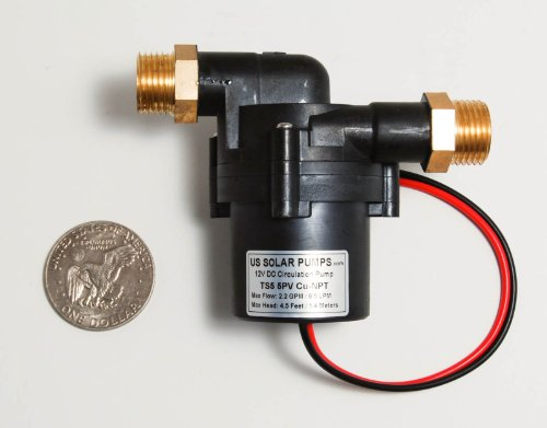 2 2 Gpm 8 5 Lpm 12v Solar Hot Water Pump Can Be Run