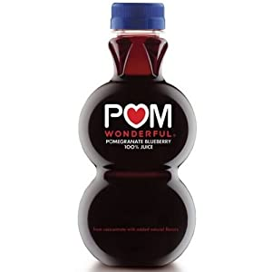 Pom Wonderful 100 Percent Pomegranate Blueberry Juice, 48 Fluid Ounce -- 6 per case.