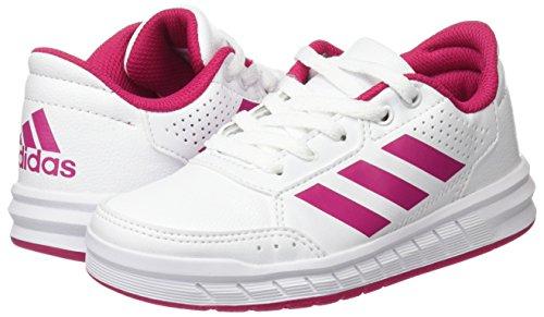 adidas Mädchen Altasport Cf I Niedrige Hausschuhe Elfenbein (Ftwr White/bold Pink/ftwr White)