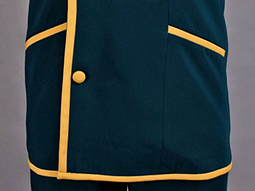 Mtxc Men's Love, Elections & Chocolate Cosplay Costume Ohjima Yuuki School Uniform Size XXX-Large Blue by Mtxc (Image #7)