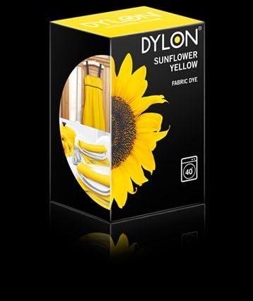 Dylon Fabric Dye – Tinte para máquina uso – girasol amarillo ...