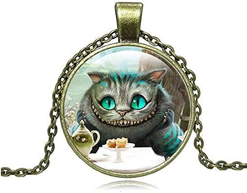 Collar de gato de Cheshire Alicia en el país de las