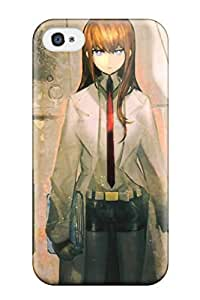 Hot Perfect Steins Gate Case Cover Skin For Iphone 4/4s Phone Case