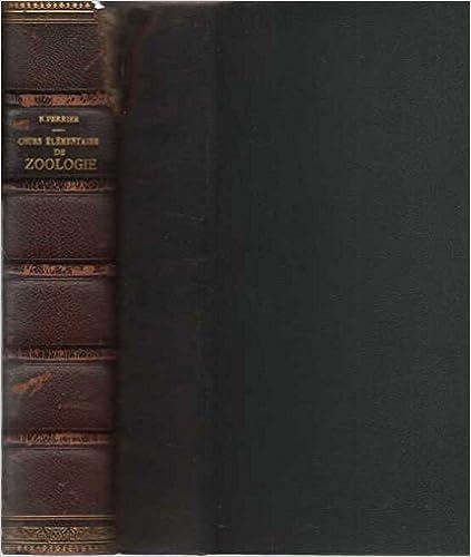 Livre gratuits Cours Elementaire de Zoologie epub pdf