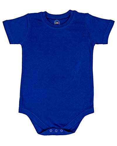 - 2T 3T 4T 5T 6T 7 8 10 12 Toddler & Kids Boys & Girls Bodysuit Short Sleeve Round Crew Neck - Many Colors (6T, Royal Blue)