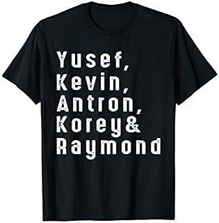 Exonerated 5 name mens tee shirt T-shirt   Size S - 5XL