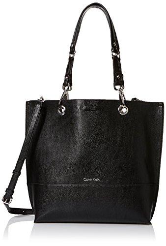 Calvin Klein Sonoma Reversible Novelty North/South Tote, Black/Grey