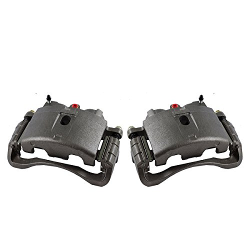 CKOE00970 [ 2 ] FRONT Premium Grade OE Semi-Loaded Caliper Assembly Pair Set