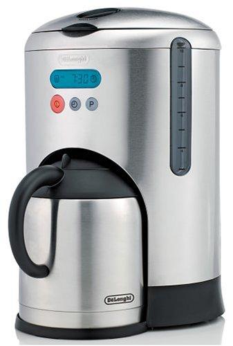 Amazon.com: DeLonghi dcm485 10-cup Jarra térmica y cafetera ...