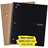 Five Star Spiral College Ruled Notebook, 5