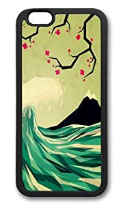 Apple Iphone 6 Case,WENJORS Awesome falling in love Soft Case Protective Shell Cell Phone Cover For Apple Iphone 6 (4.7 Inch) - TPU Black