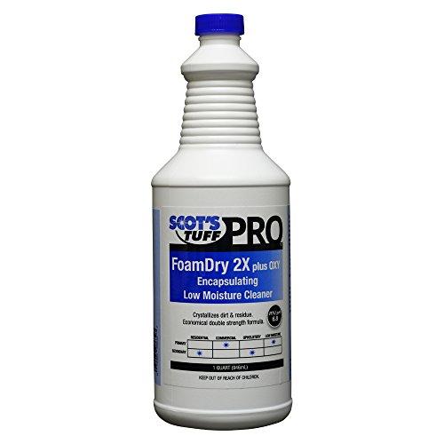 Scots Tuff Pro Foam Dry 2X Plus Oxy Encapsulating Low-Moisture Cleaner (Low Detergent Foam)